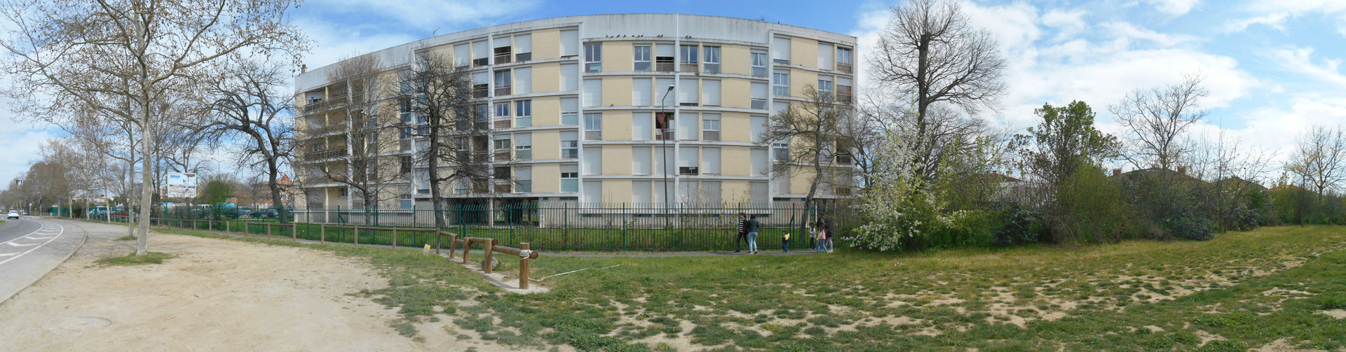 panorama milan 08 residence du parc vue nord avenue reynerie
