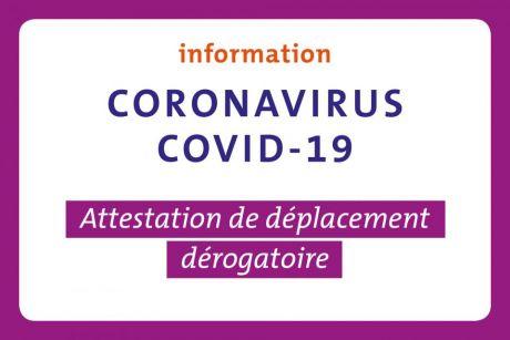 COVID-19-déplacement