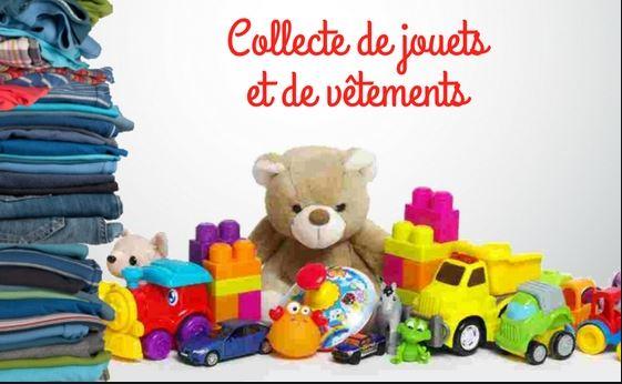 collecte vetements et jouets