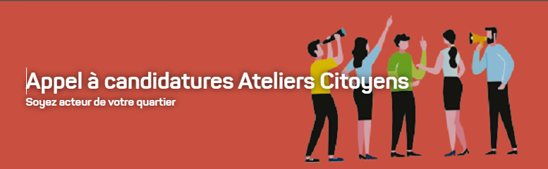 appel à candidatures ateliers citoyensn